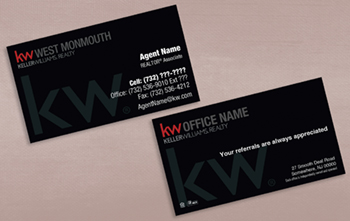 Custom Business Cards KW Print - Custom business card template